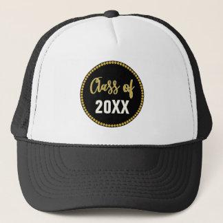 Black Gold Graduation Year Grad or Class Reunion Trucker Hat