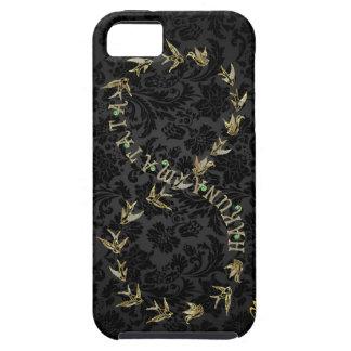 Black &  Gold Hakuna Matata Infinity Symbol iPhone 5 Case