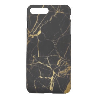 Black & Gold iPhone Clearly Deflector Case