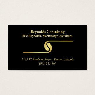 Black Gold Logo Divider