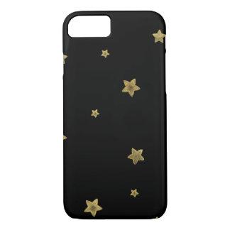 Black Gold Stars iPhone 8/7 Case