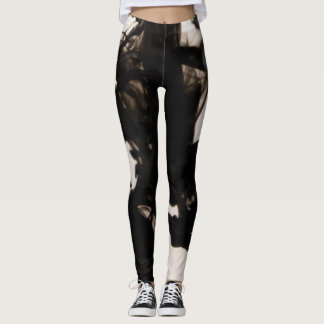Black Gost put-went Leggings