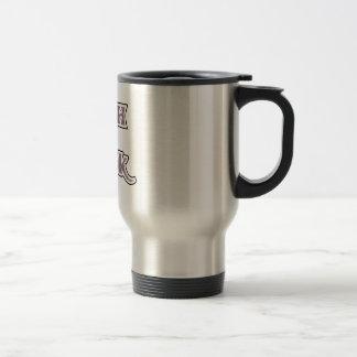 Black Goth Geek Coffee Mug