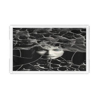 Black Gothic Acrylic Tray