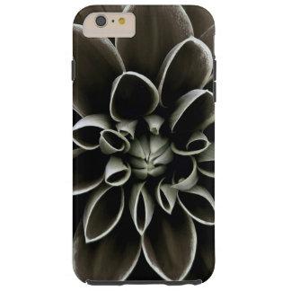 Black Gothic Dahlia Flower Floral Elegant Nature Tough iPhone 6 Plus Case