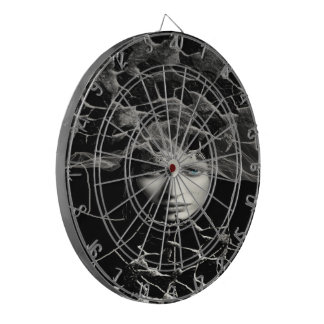 Black Gothic Dartboard