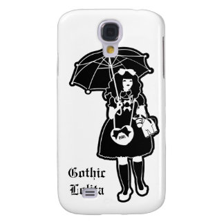 Black Gothic Lolita Phone Case