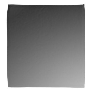 Black Gradient Bandana