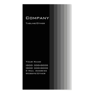 Black Gradient Pack Of Standard Business Cards