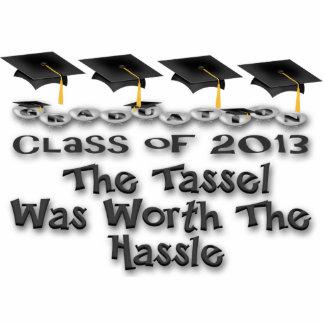 Black Graduation Caps Photo Sculpture