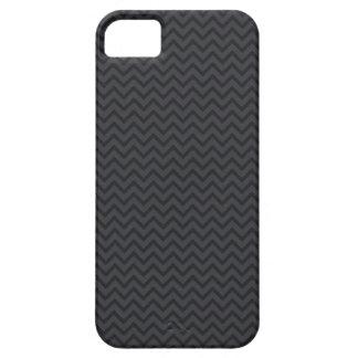 Black gray chevron zigzag zig zag stripes pattern iPhone 5 case