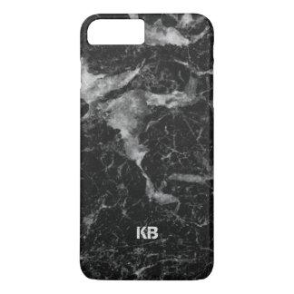 Black & Gray Marble Texture iPhone 8 Plus/7 Plus Case