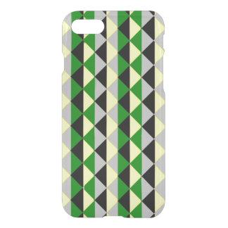 Black Green And Grey Diamonds iPhone 8/7 Case