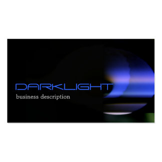 Black-Green-Blue Abstract Modern Generic Business Card