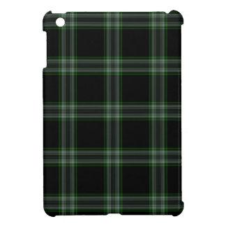 Black Green Tartan Plaid Cover For The iPad Mini
