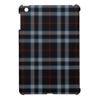 Black Grey Blue Red Tartan Plaid iPad Mini Case