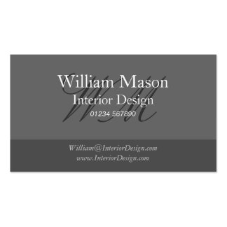 Black & Grey Professional Business Card