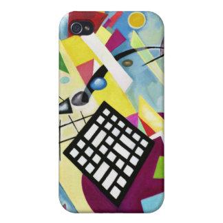 Black Grid iPhone 4/4S Cases