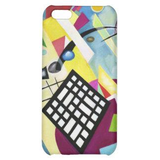 Black Grid iPhone 5C Cover
