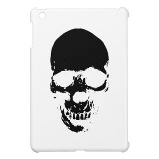 Black Grim Reaper Skull iPad Mini Covers