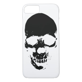Black Grim Reaper Skull iPhone 8/7 Case