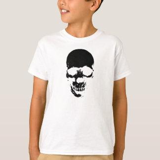 Black Grim Reaper Skull T-Shirt