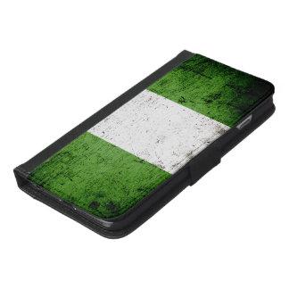 Black Grunge Nigeria Flag