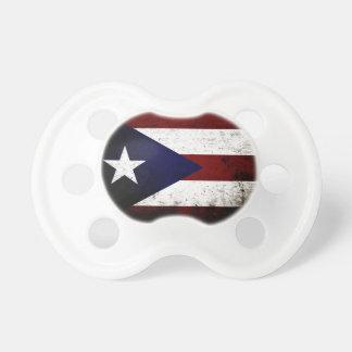 Black Grunge Puerto Rico Flag Dummy
