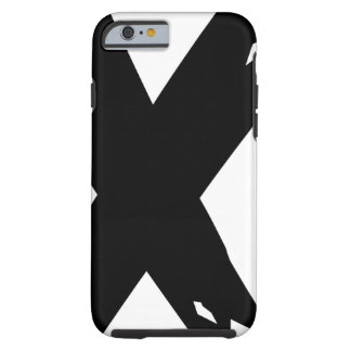 Black Grunge X Tough iPhone 6 Case
