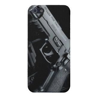 black gun case for iPhone 5/5S