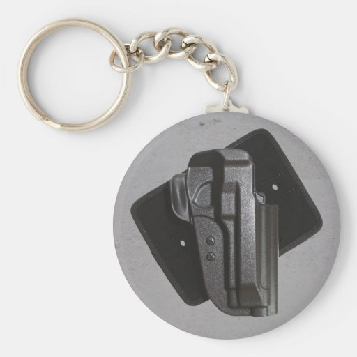 Black Gun / Firearm Holster Key Chains