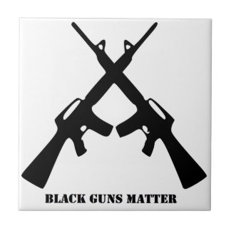 Black Guns Matter Tile