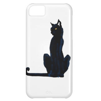 black halloween cat iPhone 5C case