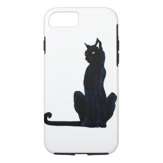 black halloween cat iPhone 7 case