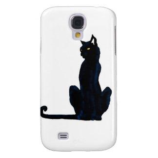 black halloween cat samsung galaxy s4 case