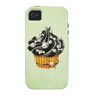 Black Halloween Cupcake iPhone 4/4S Cases
