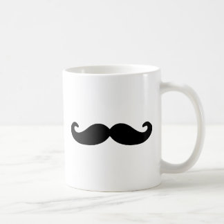 Black Handlebar Moustache/Mustache Mugs