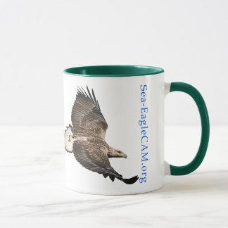 Black Handled S3 Flying Mug