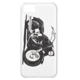 Black Harley motorcycle Case For iPhone 5C