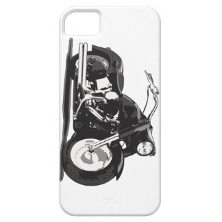 Black Harley motorcycle Case For The iPhone 5