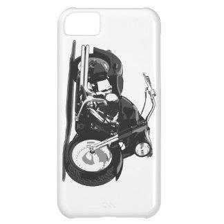 Black Harley motorcycle iPhone 5C Case