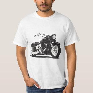 Black Harley motorcycle T-Shirt