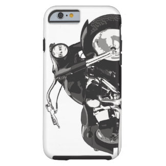 Black Harley motorcycle Tough iPhone 6 Case