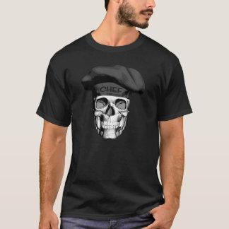 Black Hat Chef Skull T-Shirt