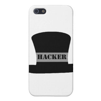 Black Hat Hacker iPhone 4 Case