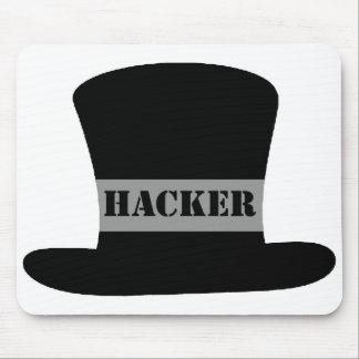Black Hat Hacker Mouse Pad