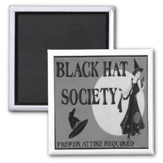 Black Hat Society Magnet