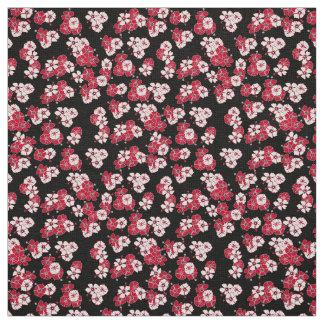 Black Hawaiian Solid Fabric
