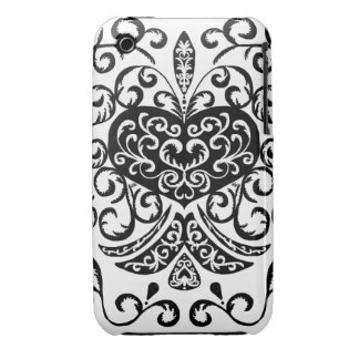 black heart iPhone 3 Case-Mate cases