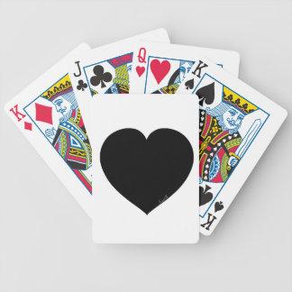 Black Heart Poker Deck